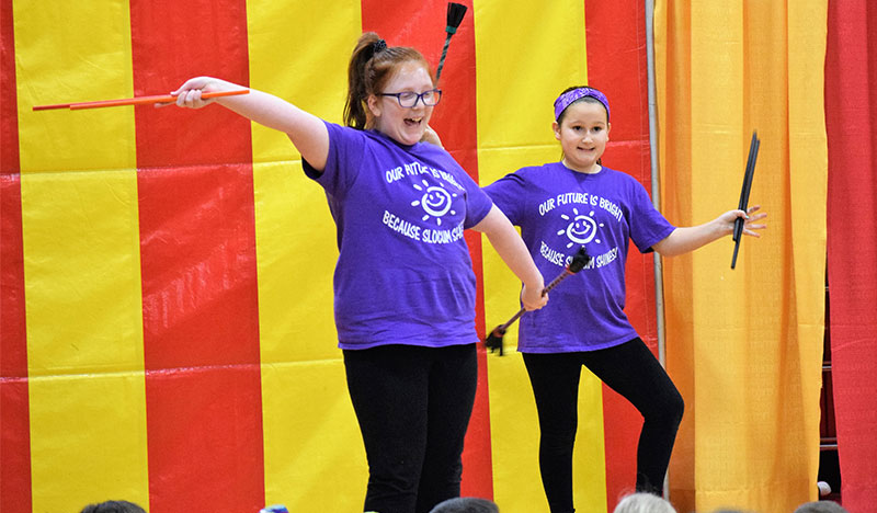 Displaying Circus Skills photo