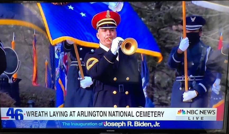 CHS Alumnus Performs at Presidential Inauguration